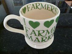 Emma Bridgewater Organic & Green 1 Pint Mug