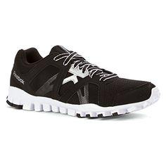 Reebok RealFlex Train RS 20 Mens Training Shoe 9 BlackWhiteSilver -- See this great product.