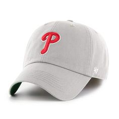 the latest 16dc9 a1459 Philadelphia Phillies 47 Brand Gray Franchise Fitted Hat