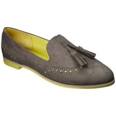 Women's Mossimo® Valda Loafer - Assorted Colors In brown w/pink (it wont let me pin that color combo)