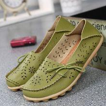 Изысканный Полые Дизайн Стили Женщины Обувь Из Натуральной Кожи Мокасины Мода Повседневная Женщины Квартиры Вождения Мокасины 20 Цвета Выберите(China (Mainland))