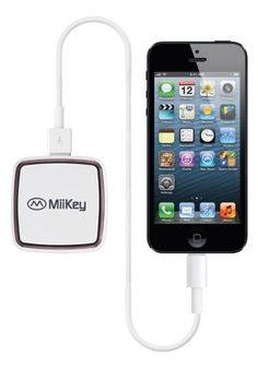 Miikey Miipower Mini 2200 mAH Capacity Power Bank   Home Car Charger with Intelligent LED Power Display -- See this great product.