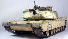 M1A1 Abrams AIM 1/35 Scale Model