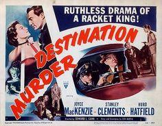 destination murder - 1950