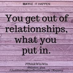 What are you putting onto your relationships? @inner.resources.wellness www.2r.co.za Seek First To Understand, Seven Habits, Highly Effective People, Job Seekers, Getting Out, Relationships, Mindfulness, Inspirational Quotes, Wellness