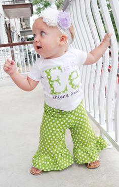 Infant Girls Toddler Girls Girls Polka Dot by bohemianbabycouture