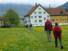 Wanderung 29. April 2014: Typisches Appenzell Innerrrhoder Bauernhaus