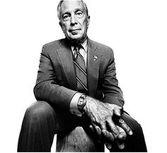 Michael Bloomberg by Platon // close & wide