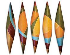 Arc 5 Set: Liza Halvorsen: Ceramic Wall Art | Artful Home