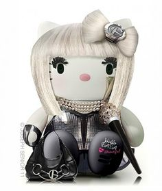 Lady Gaga Kitty, I know a little Indie Girl who love this!