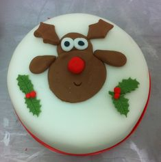 iced christmas cakes designs - Google Search