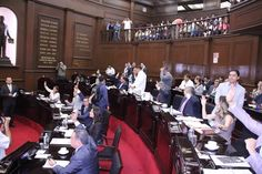El pleno del Congreso del Estado aprobó las reformas en las que se atienden las observaciones realizadas por el anterior Ejecutivo estatal a la Minuta 546; establece los concursos de ...