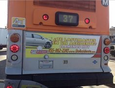 Metro LA Bus Ads #wemakethosetoo #banners #advertising #largeformatprinting #inkheadprints