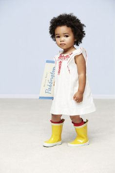 cutest baby boots & dress