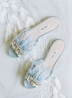 Intimate Chateau Wedding in Normandy, France Intimate Chateau Wedding in Normandy, France Wedding Accessory Inspiration by Molly Carr Photography Wedding Accessories For Bride, Bridal Accessories, Blue Wedding Shoes, Best Bridal Shoes, Dusty Blue, Navy Blue, Vintage Shoes, Beautiful Shoes, Me Too Shoes