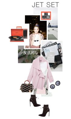 """""""Jet Set Style With DJ Mia Moretti & The RealReal: Contest Entry"""" by afaboro ❤ liked on Polyvore featuring Missoni, Miu Miu, Yves Saint Laurent, Vince, Opening Ceremony, Rebecca Taylor and Louis Vuitton"""