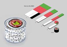Sushi Towels on Behance