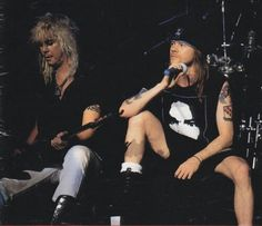 Duff and Axl