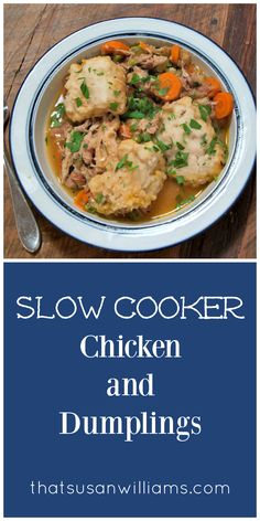 Old Fashioned Slow Cooker Chicken and Dumplings Recipe