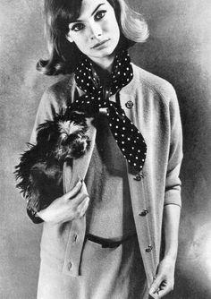 Jean Shrimpton, photo by Eugene Vernier, Vogue 1963