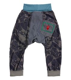 Beachcomber Harem Pant, Oishi-m Clothing for Kids, Summer 2018, www.oishi-m.com