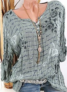 Latest fashion trends in women's Blouses. Shop online for fashionable ladies' Bl… Latest fashion trends in women's Blouses. Shop online for fashionable ladies' Blouses at Floryday – your favourite high street store. Fashion Moda, Boho Fashion, Fashion Outfits, Womens Fashion, Fall Fashion, Beautiful Outfits, Cool Outfits, Casual Outfits, Style Désinvolte Chic