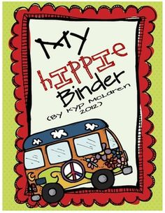 So, what is a Hippie Binder?    The Hippie binder is a 3-ring notebook that students use everyday to develop organizational skills and responsibility.  This 3-ring binder houses EVERYTHING your child, you (the caregivers) and I need to keep up-to-date with what is going on in our classroom and at school. Everything will be right here in our Hippie Binder!