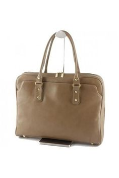 """""""Made In Italy"""" Woman's Leather Briefcase - Metropolitan"""