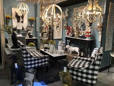This vignette at really got our attention at - truly a dogs life! Design Lab, Set Design, Design Ideas, Las Vegas World, World Market, Dog Life, Vignettes, Table Settings, Table Decorations