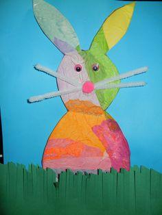 Tissue Paper Bunny