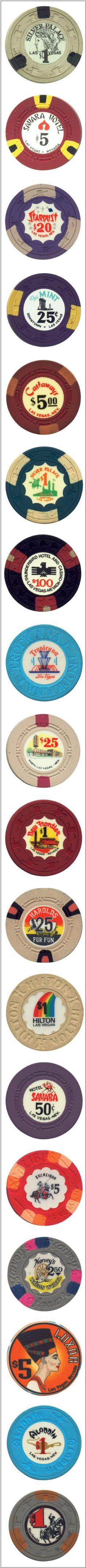 Vintage Las Vegas Gaming Chips II