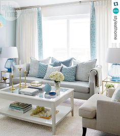 Untitled — Spotted: our custom Nicole Sofa and...
