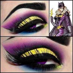 Batgirl eyes