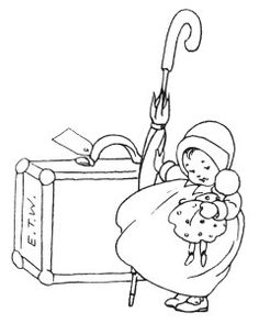 vintage baby clipart, black and white clipart, baby with toys ...