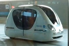 personal transport vehicle | Masdar City trackless Personal Transportation System – Click above ...