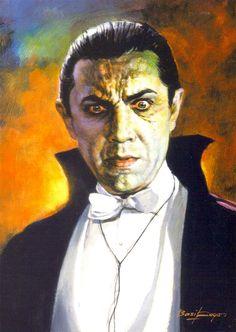 """Bela Lugosi as """"Dracula"""" / Basil Gogos"""