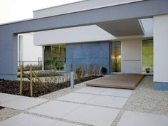 CIP concrete   aggregate   wood decking