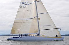 "12 Metre North American ""New Zealand"" at the 12 Metre North Americans Championships at Ida Lewis Yacht Club - Yachts and Yachting Online"