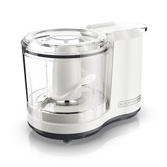 BLACK DECKER One-Touch Cup Capacity Electric Food Chopper with Improved Assembly Lid, White *** Learn more by visiting the image link. Mini Chopper, Food Chopper, Best Food Processor, Food Processor Recipes, Small Kitchen Appliances, Cool Kitchens, Kitchen Gadgets, Vegetable Chopper, Electric Foods