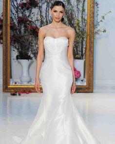 By designer Anne Barge. Shop for your wedding trousseau, with a personal shopper & stylist in India - Bridelan, visit our website www.bridelan.com #Bridelan #BridalFashionWeek #Spring2017 #AnneBarge #NewYork