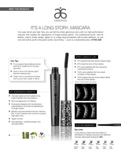 Tired of your dull thin eyelashes? Try the Arbonne mascara! Product Number: 7793 £25 For orders & more Information use consultant ID 441245660