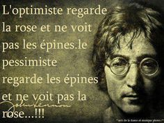 #Optimisme Citation de John Lennon