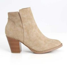 Charles Albert Rainy Ankle Boots in Taupe