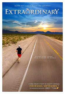 Based on the real life events of acclaimed #marathon #runner David Horton and his wife Nancy. Extraordinary is an inspiring #family #movie with an #empowering message from Universal Pictures Home Entertainment. http://www.niecyisms.com/2018/01/this-true-story-is-extraordinary.html #ad #ExtraordinaryMovie #runners #RunningMan