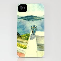 Greek Memories No. 9 iPhone Case by Vargamari - $35.00 - watercolor, from the Greek-series