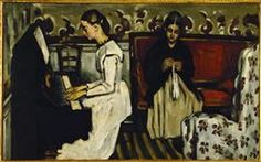 Cezanne, Paul (1839-1906) Tannhauser Overture, c.1869, canvas, 75 x 92 cm.Hermitage, St. Petersburg, Russia