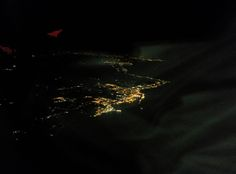 Landing to Rome Da vinci Airport