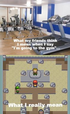 Gym? I meant this gym... #Pokemon