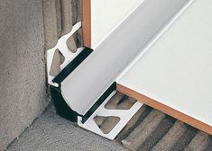 Resin edge trim / for tiles / inside corner