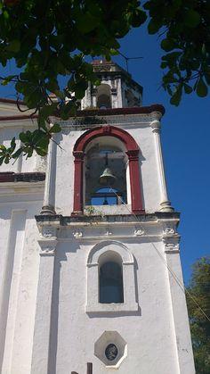 Iglesia de Nuestro Señor del Buen Viaje, La Antigua, Veracruz. Our Lord of Good Speed Church at La Antigua, Veracruz.